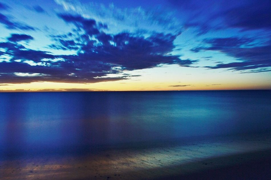 Nature Water Sky Sea Beauty In Nature Scenics Reflection Blue Horizon Over Water Tranquil Scene Tranquility No People Sunset Beach Outdoors Cloud - Sky Wave Day