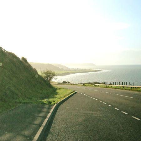 Aberaeron...Coast road...