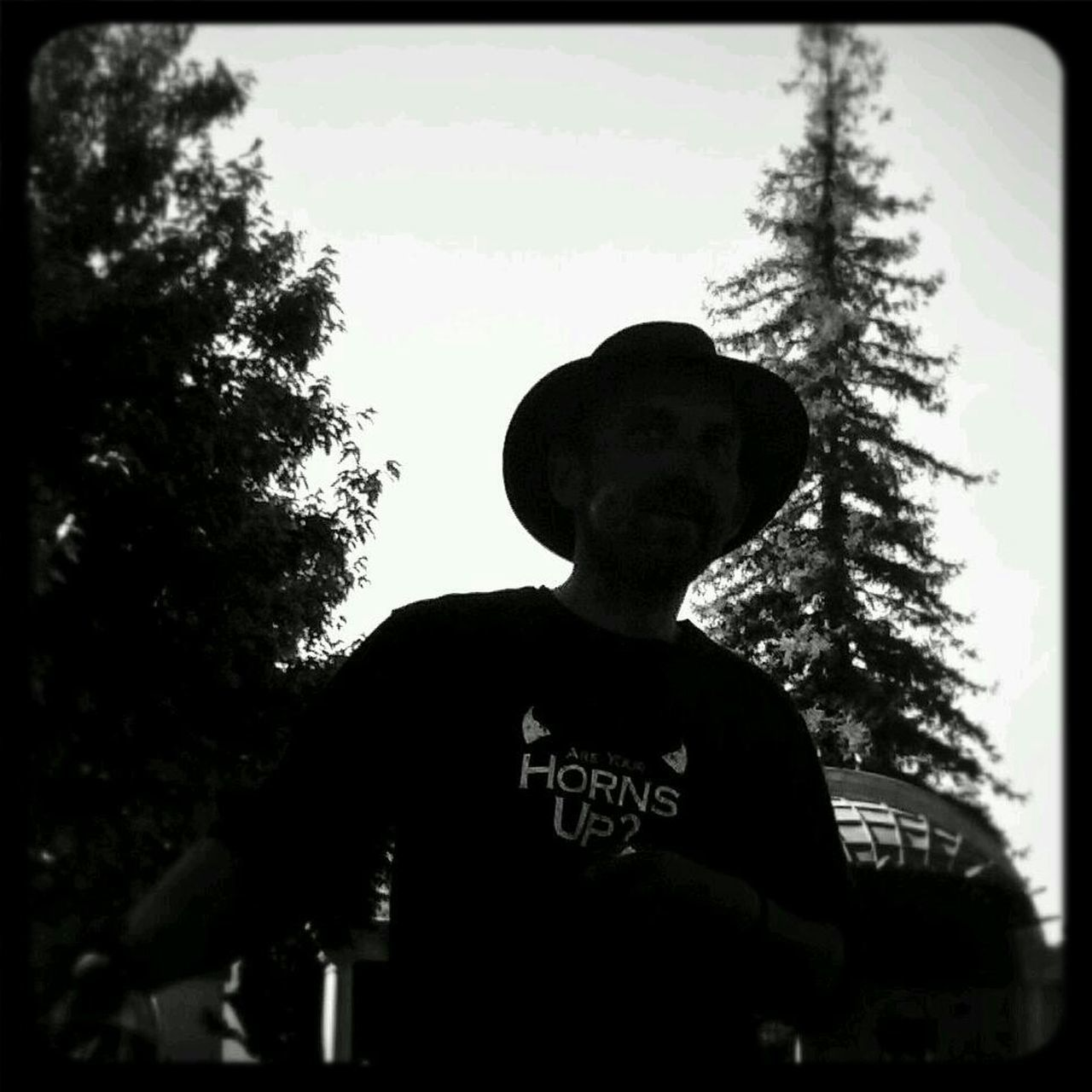 My husband Love ♥ Ehemann ♥ Silhouette Gunslinger  #blackandwhite