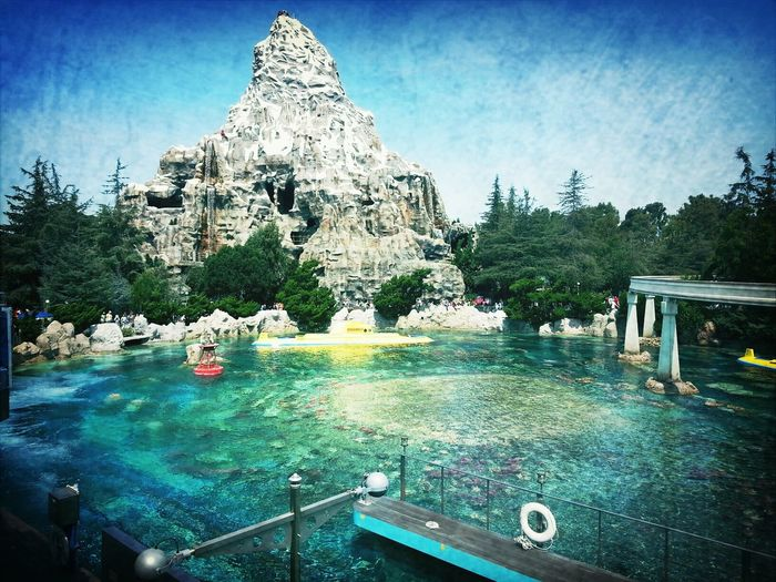 The Matterhorn & Nemo Submarine Ride