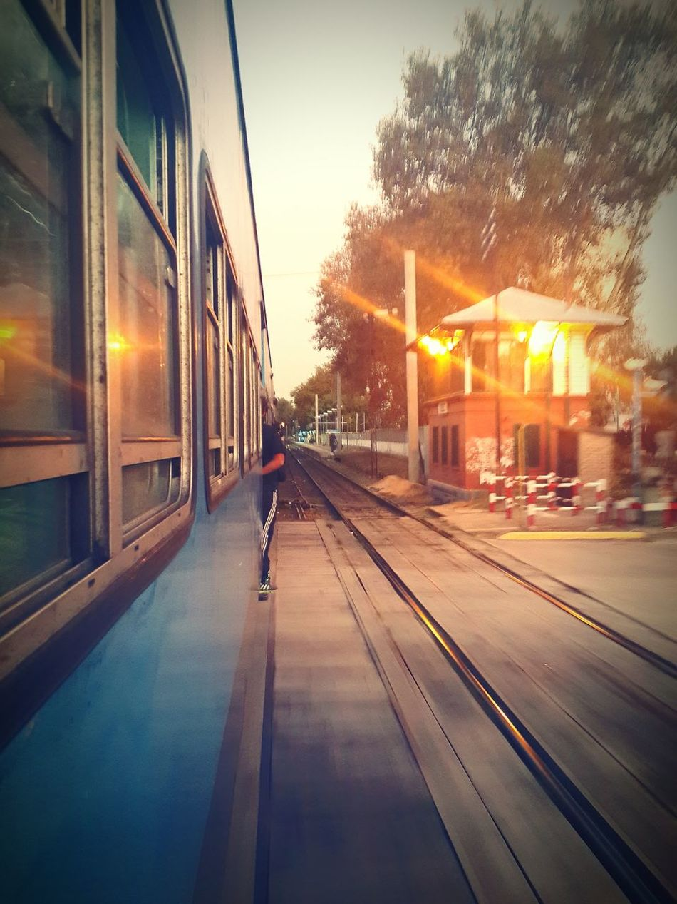 Tren a max. Velocidad