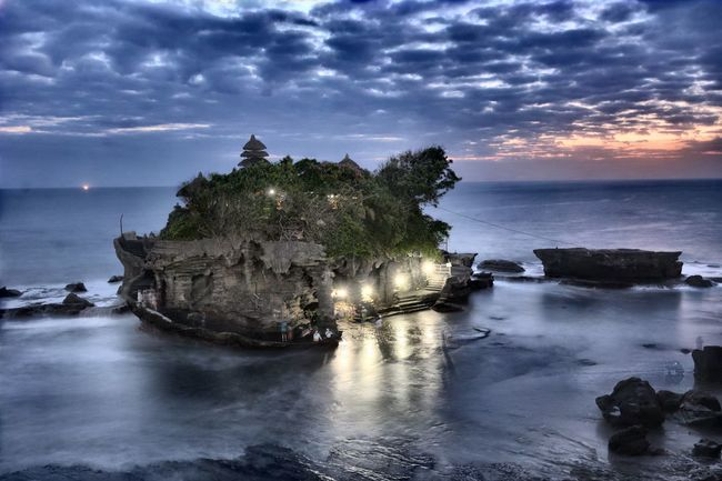 First Eyeem Photo Tanah Lot Bali INDONESIA temple Sacred pura Hinduism religion Snakes sunset Overnight Success
