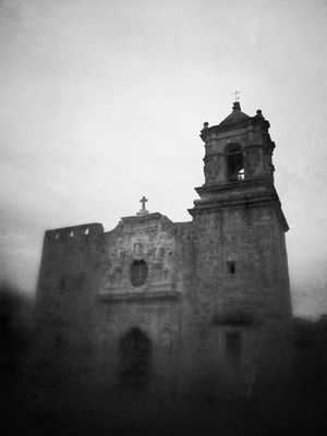 blackandwhite at Mission San Jose by Donny Tidmore