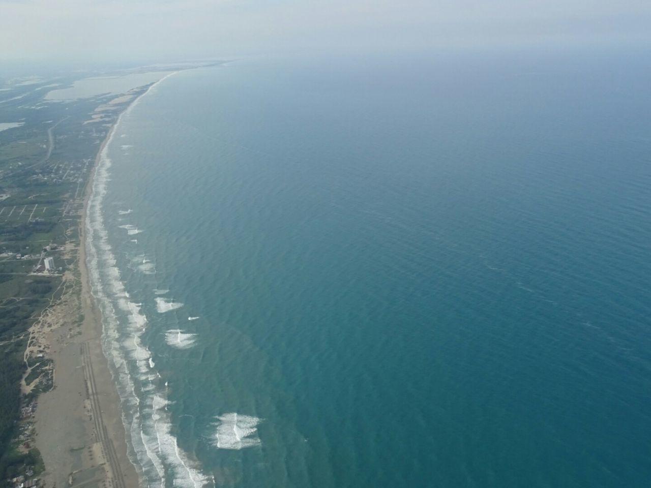Coastline Calm Waterfront Outdoors Blue Sea And Sky Seascape Tampico