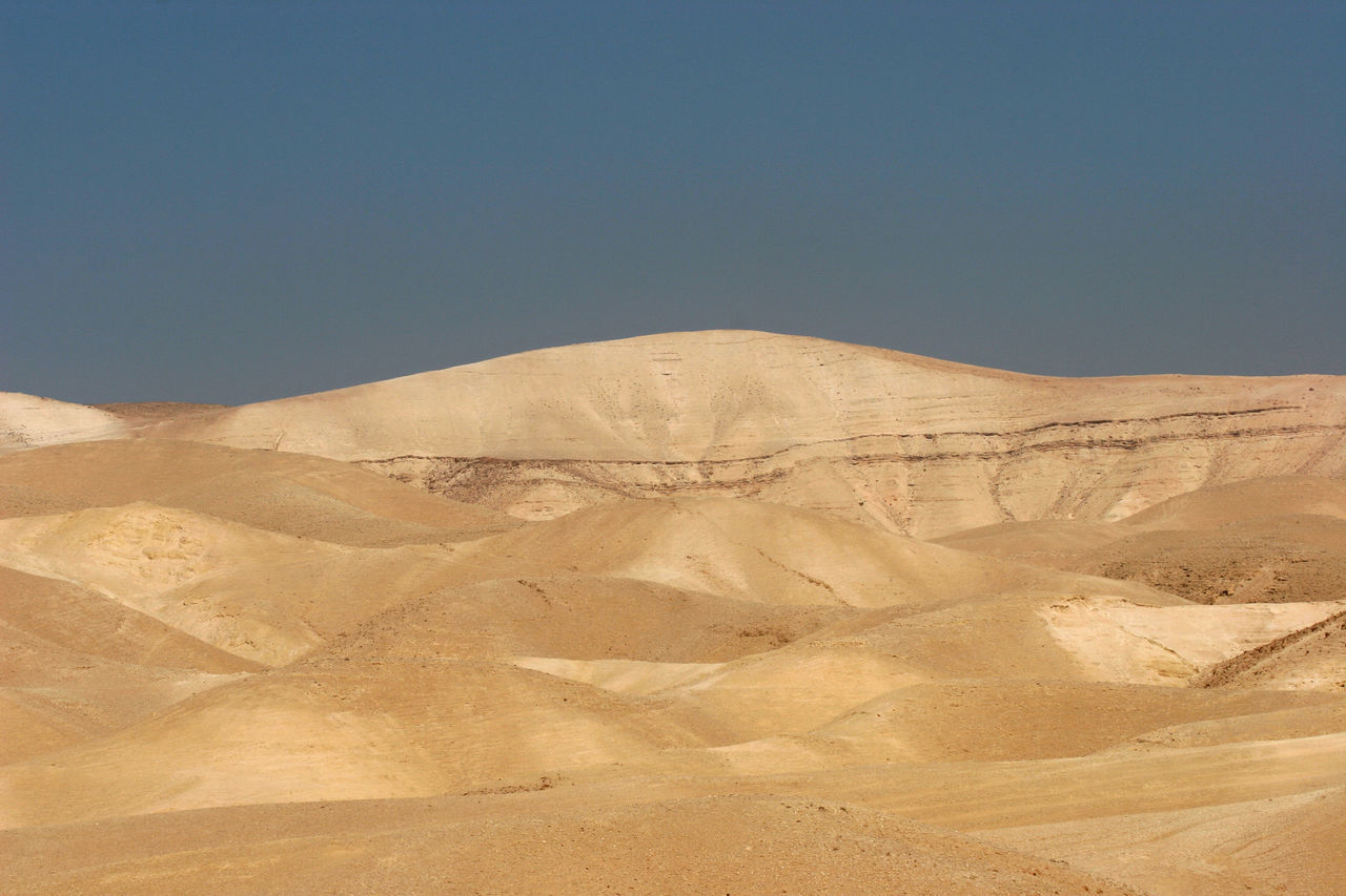 nature, arid climate, geology, desert, physical geography, landscape, tranquility, day, tranquil scene, outdoors, no people, scenics, beauty in nature, clear sky, sky, sand dune
