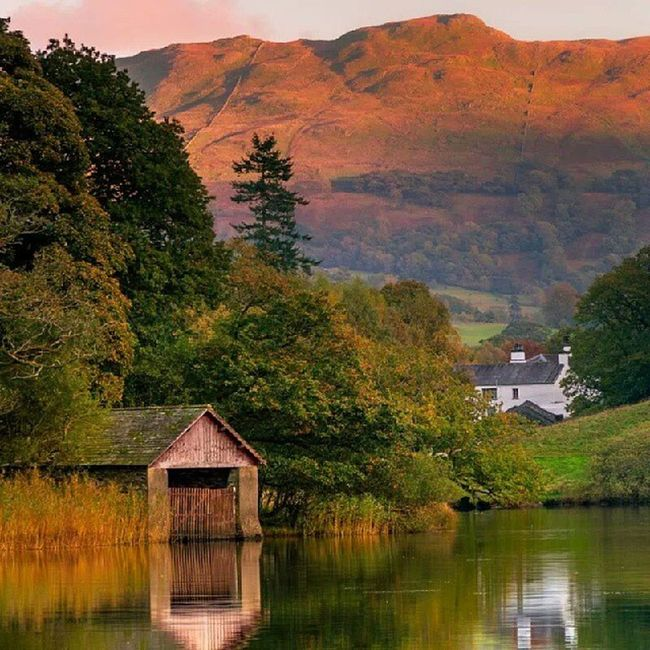 Boathouse Rydal Cumbria Lakedistrict landscape_lovers landscape nature_seekers nature picoftheday photooftheday instacool instagram www.damianshields.com