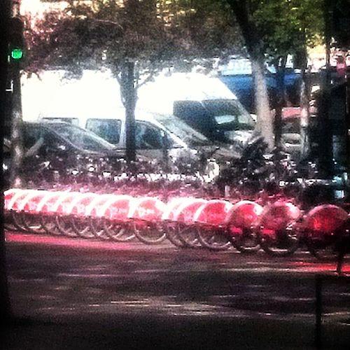Bicing. Barcelona Bicing Bicycle Bike Bikes Bycicles Car Cars Catalonia City Bike City Bikes City Bycicle EyeEm Best Edits EyeEm Best Shots Eyeem Bycicle EyeEm Gallery Parked Parked Bicycle Parked Bicycles Parked Bike Parked Bikes Parked Car Parked Cars Street Urban Bike