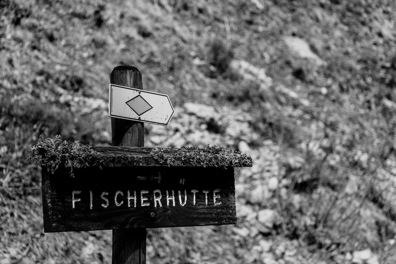 Fischerhütte Blackandwhite