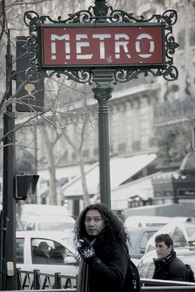 Paris Metro Taking Photos Traveling In Paris