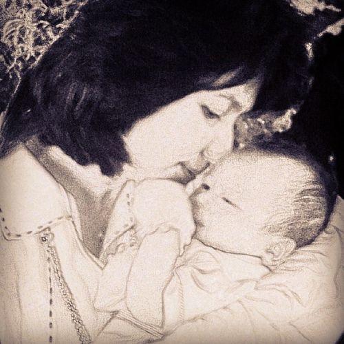Sige na nga... madonna and child Noahjoaquin Kisses Babyboy Babylove