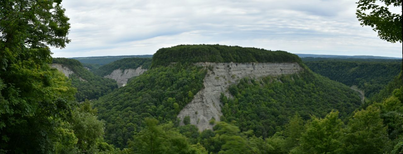 Letchworth canyon. Letchworth State Park, New York. Letchworth State Park Canyon Valley Vista View Panorama Summer New York Letchworth Bend Riverbend Genessee River River Nature Landscape The Great Outdoors With Adobe