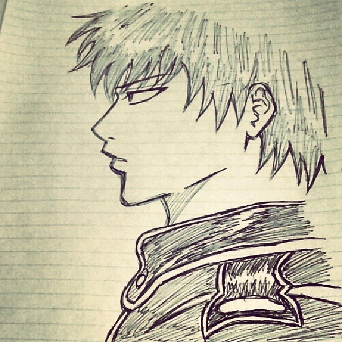 Anime Comic Gintama Hijikata Illust 漫画 銀魂 土方 絵