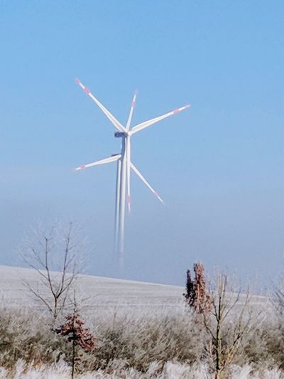 kalt Kalt Wetter Hameln Windmühle Alternative Energy Regenerative Power Power Power In Nature