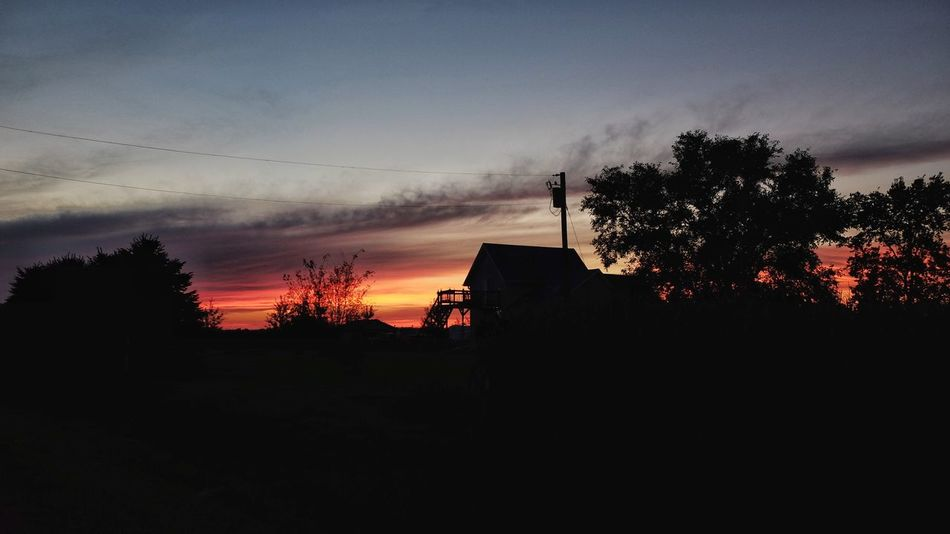 August 2016 Friend, Nebraska 35mm Camera A Day In The Life Camera Work Color Photography Dramatic Sky Eye For Photography EyeEm Best Shots EyeEm Gallery FUJIFILM X100S Landscape Moody Sky My Neighborhood Non-urban Scene Orange Color Photo Essay Photography Remote Rural America Rural Scene Scenics Small Town America Small Town Stories Summertime Sunset Tranquility