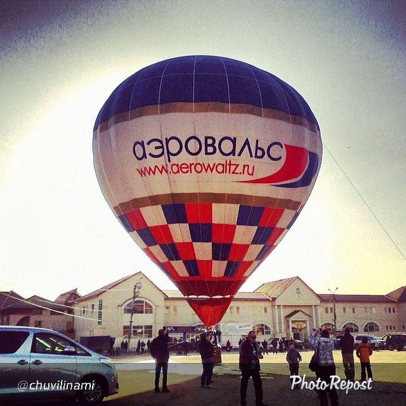 аэровальс на_большом_воздушном_шаре Полет полеты