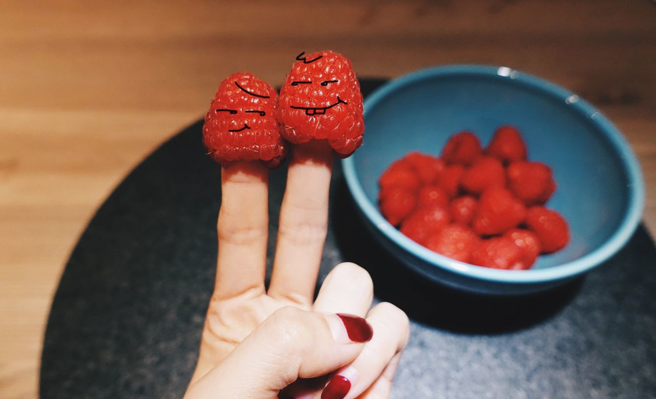 """...1...2...3...Smile...""👫📸//. Human Hand Food Food And Drink Human Body Part Red Berry Fruit Freshness Fruit Ready-to-eat Close-up Lifestyles Fun Funny Creativity Creative Life Design Face People Healthy Eating Holding Foodporn Foodphotography Foodie Smile"