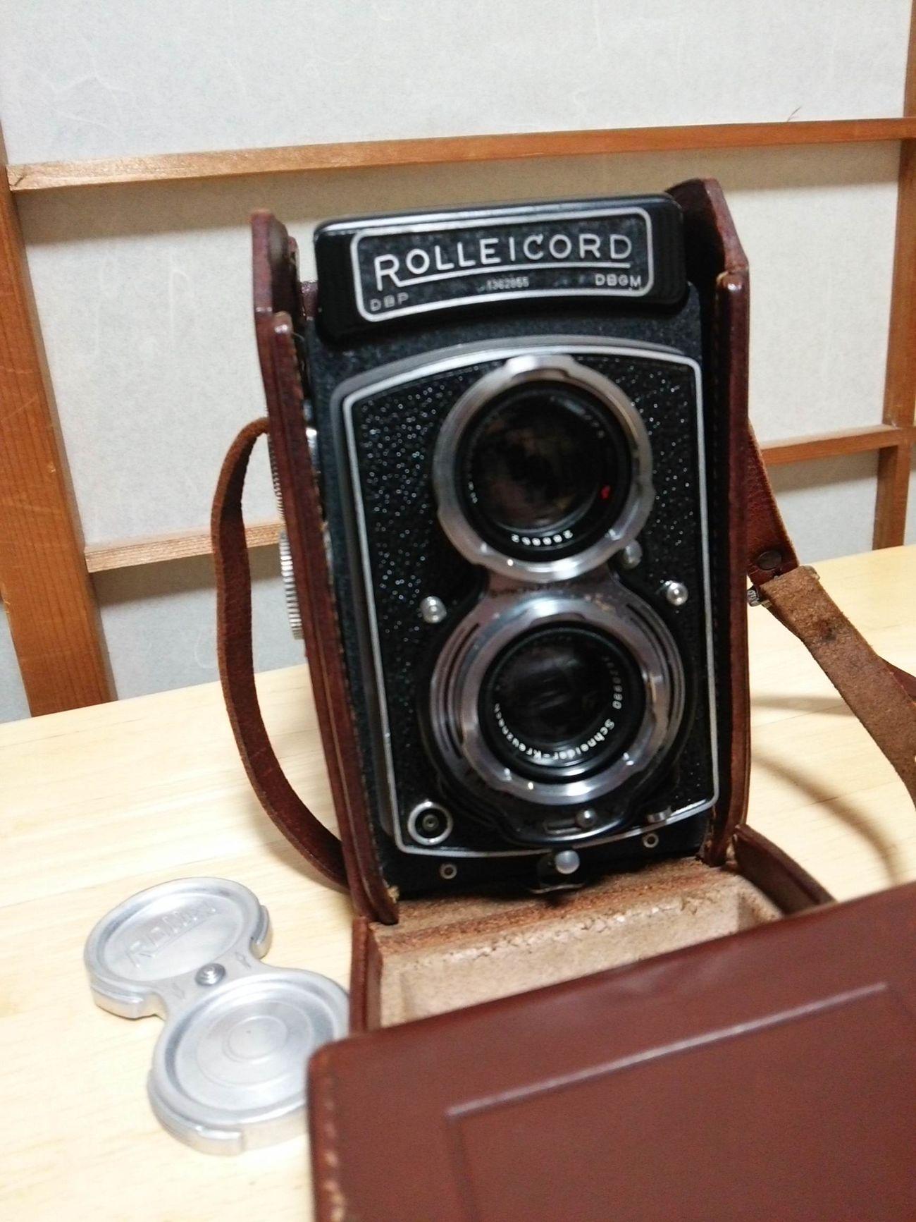 カメラ買いました ローライコード Rolleicord