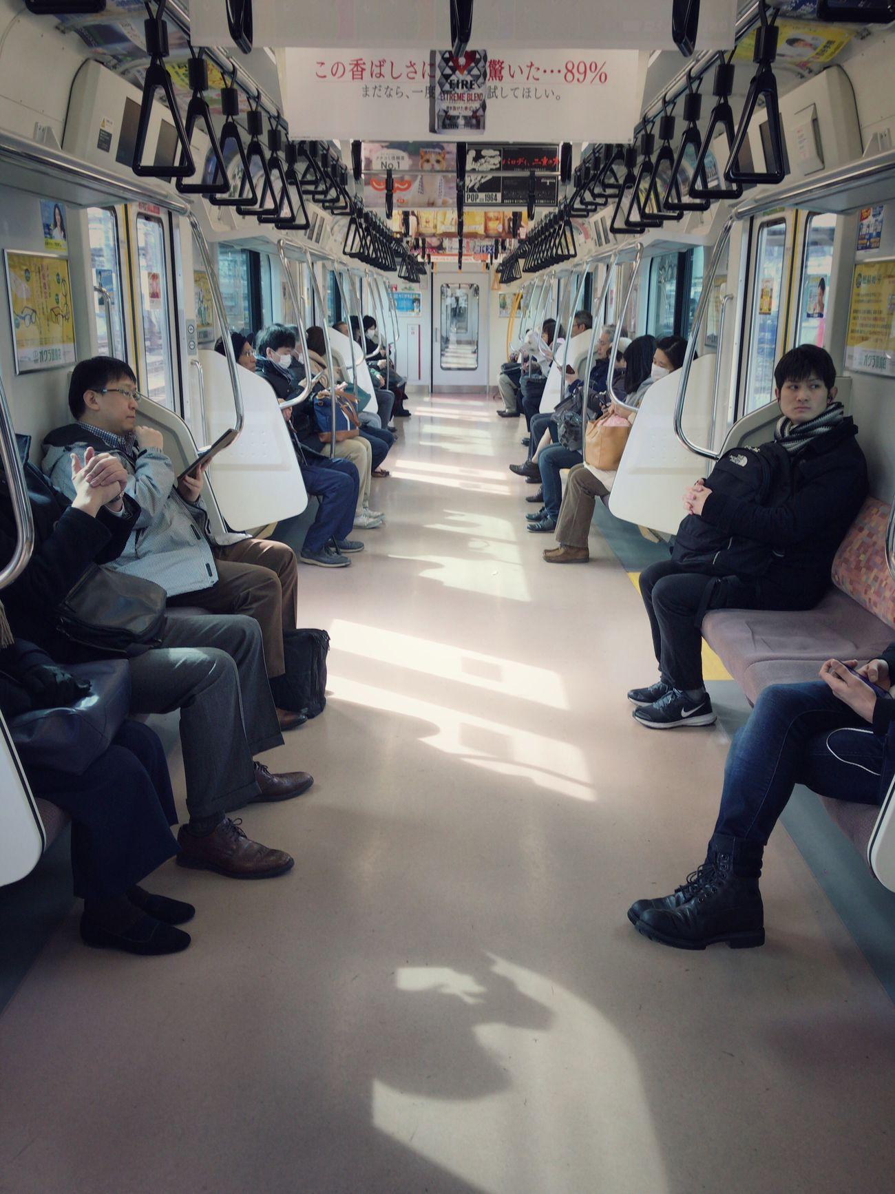 Transportation Train Interior Streetphotography