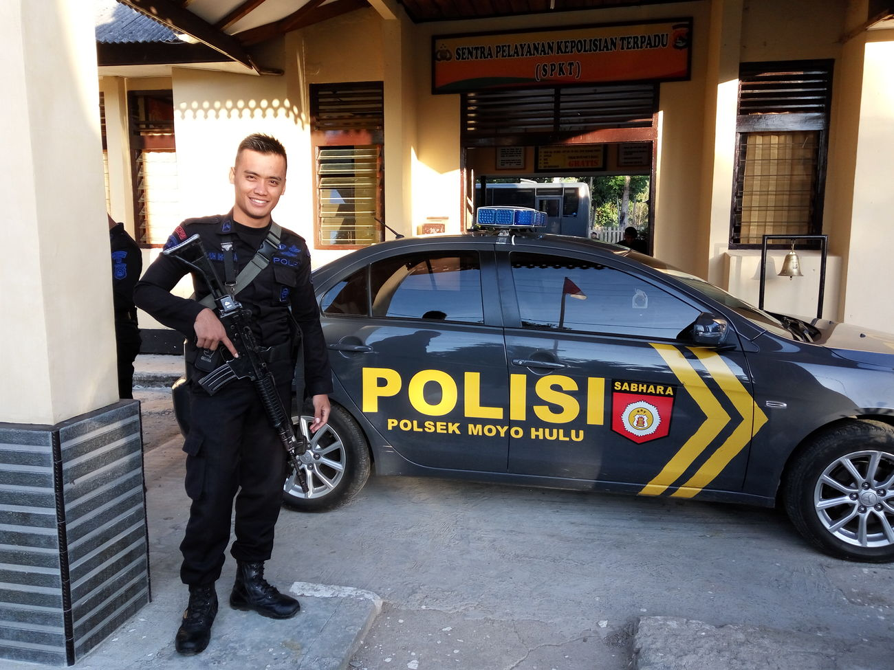 Myjob Policeman That's Me Original Photo to day