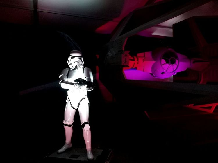 Futuristic Indoors  The Empire Strikes Back Ship Arts Culture And Entertainment Sculpture Star Wars Statue Robot Stormtrooper No People