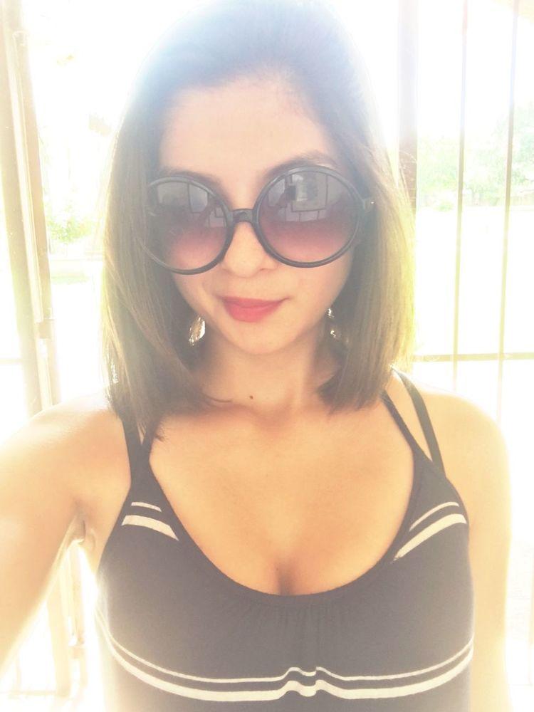 Soaking in the sun Headshot Sanantoniomissions Outdoors Sunnyday☀️ Relaxation Pendant Light Vibrant Light Shades On