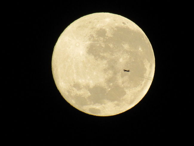Airplane Beauty In Nature Dark Full Moon Infinity Moon Moon Surface Nature Night Sky Tranquility Fly Me To The Moon