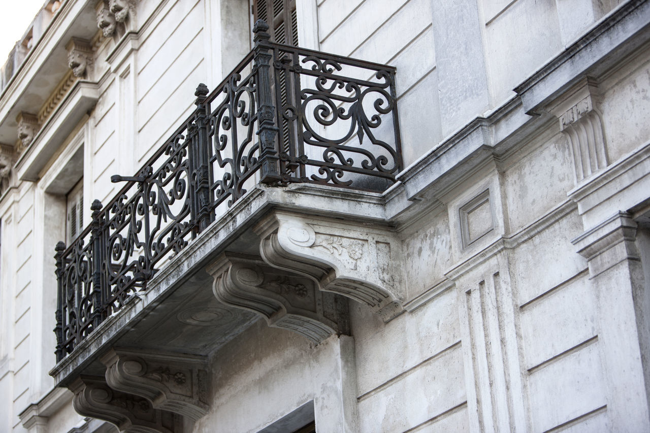 Architecture Architecture Athens Balcony Building Exterior Built Structure City Day Façade Forged Iron Greece Low Angle View Metal Metallic Neoclassical Neoclassical Architecture No People Outdoors Urban Architecture Windows