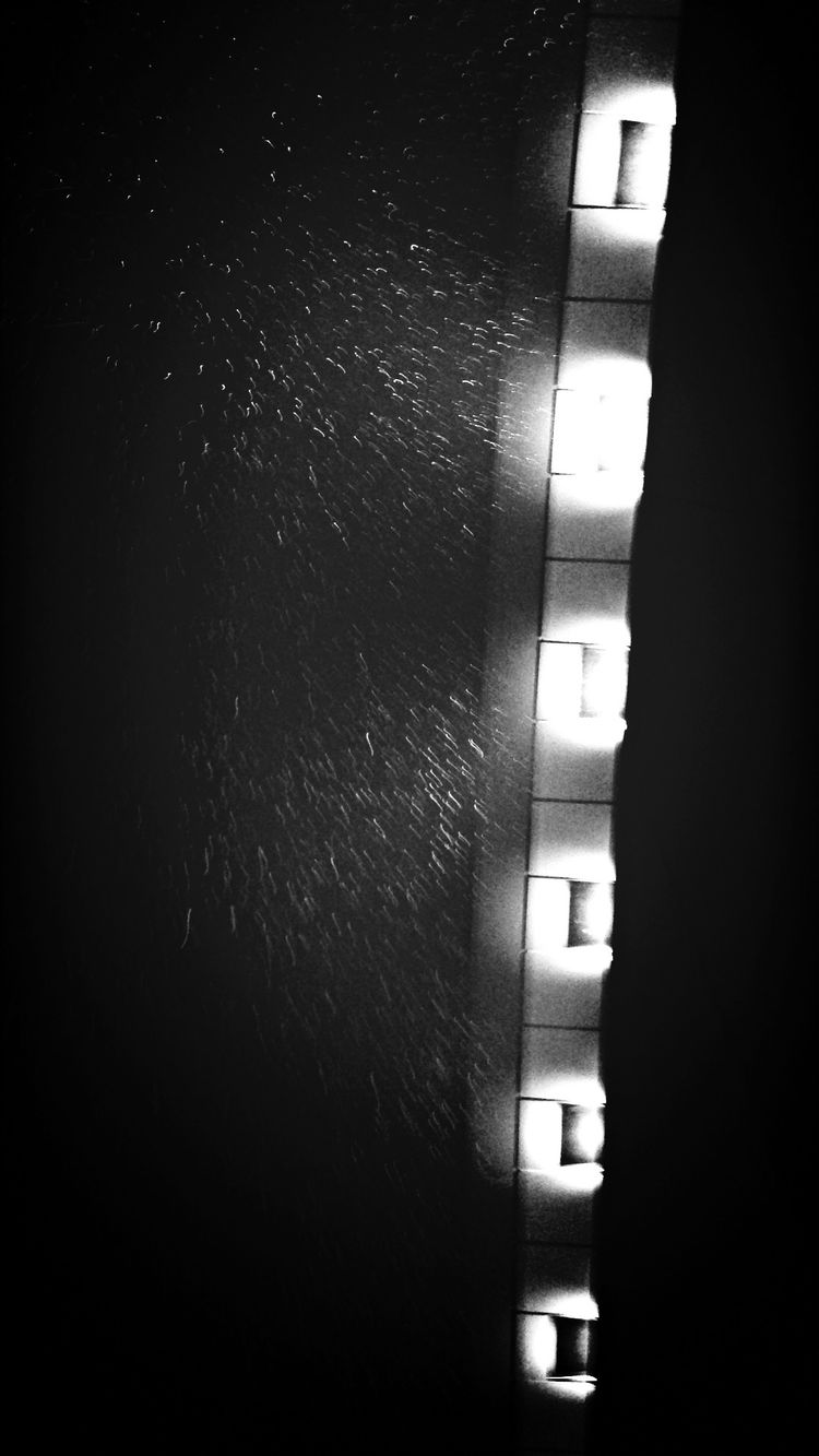 Taking Photos 退勤なう Nightphotography Rain GWは仕事です