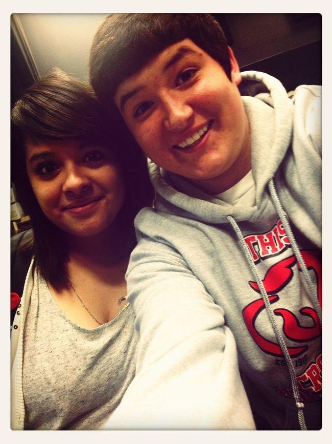 Me And Jessica!!(: