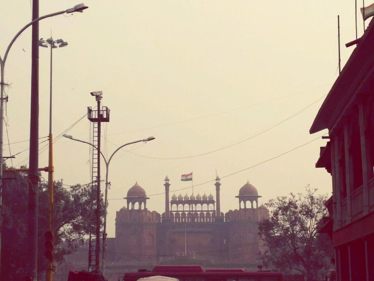 Architecture City Delhi Trip Built Structure Outdoors