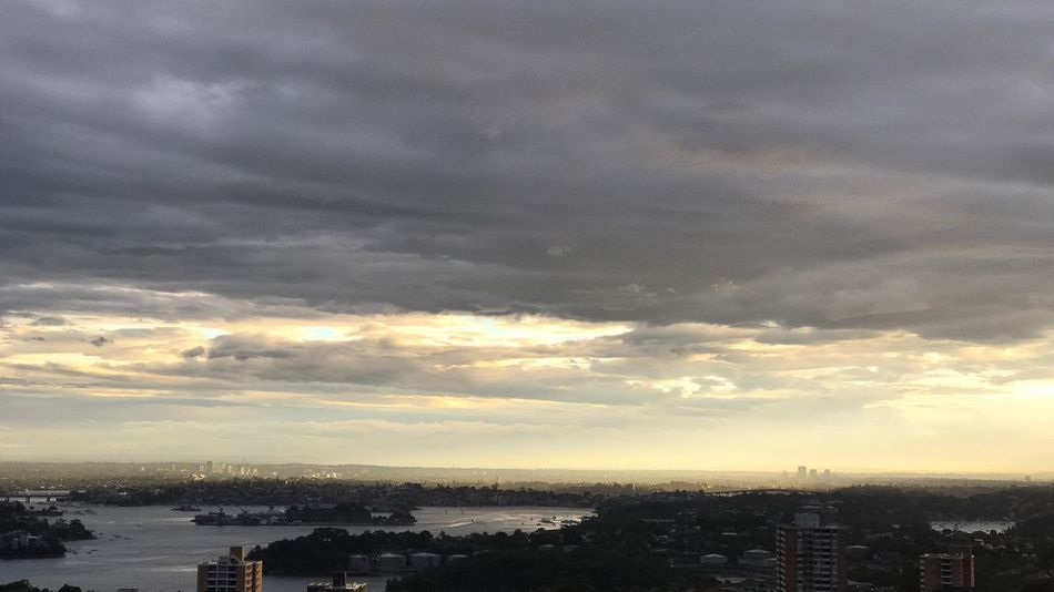 Sydney Australia Cloud - Sky City Sunset Beauty In Nature