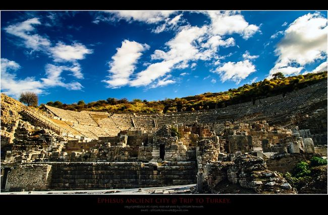 Ephesus, Turkey. Turkey Landscape_Collection Traveling Relaxing
