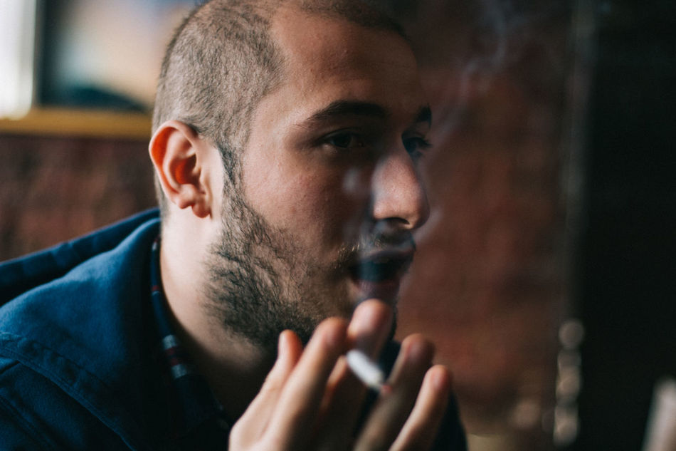 Beautiful stock photos of cigarette, 20-24 Years, Addiction, Bad Habit, Beard