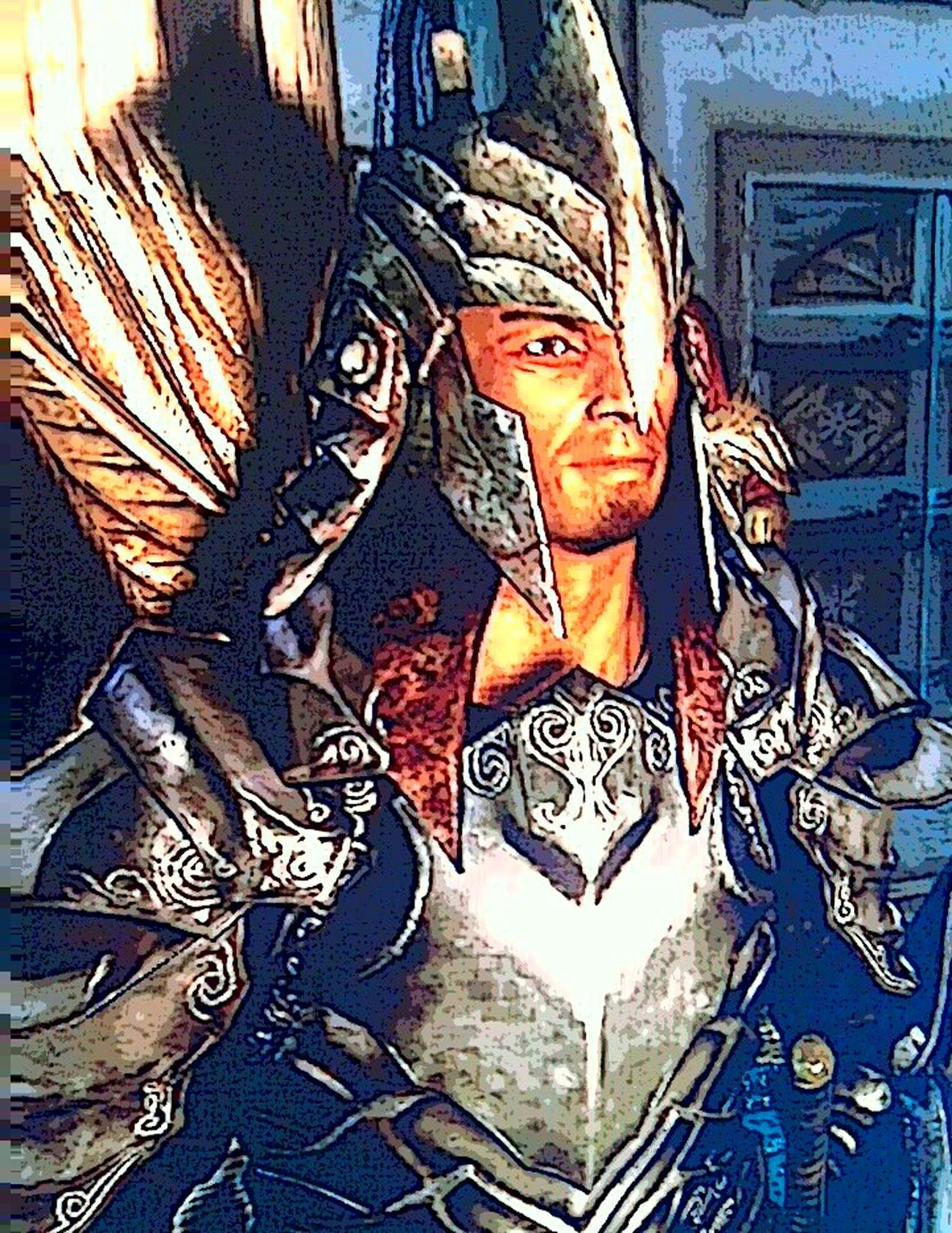 Gideano Vicente, Redguard. Screenshot Skyrim Playing Skyrim Fantasy