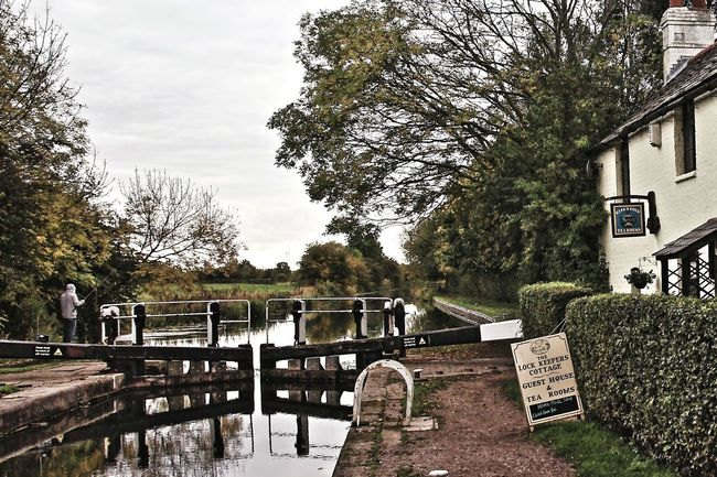 Grand Union Canal Aylestone Kings Lock England Canals Canal Lock Landscape