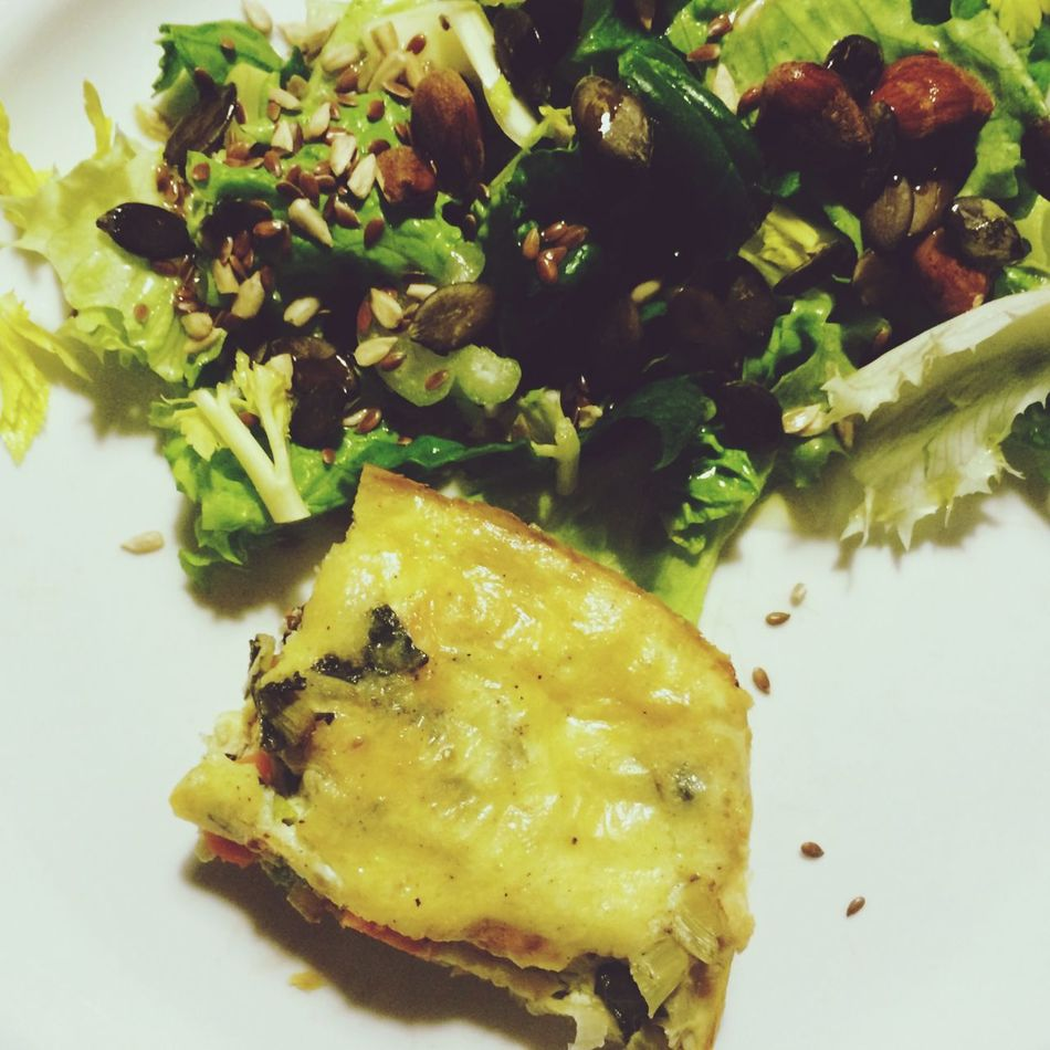 Eating Healthy Nutrition Seeds Booster Flax Seeds Anti Inflammatory Pumpkin Seeds Improve Brain Function + delicious Quiche QuicheLorraine