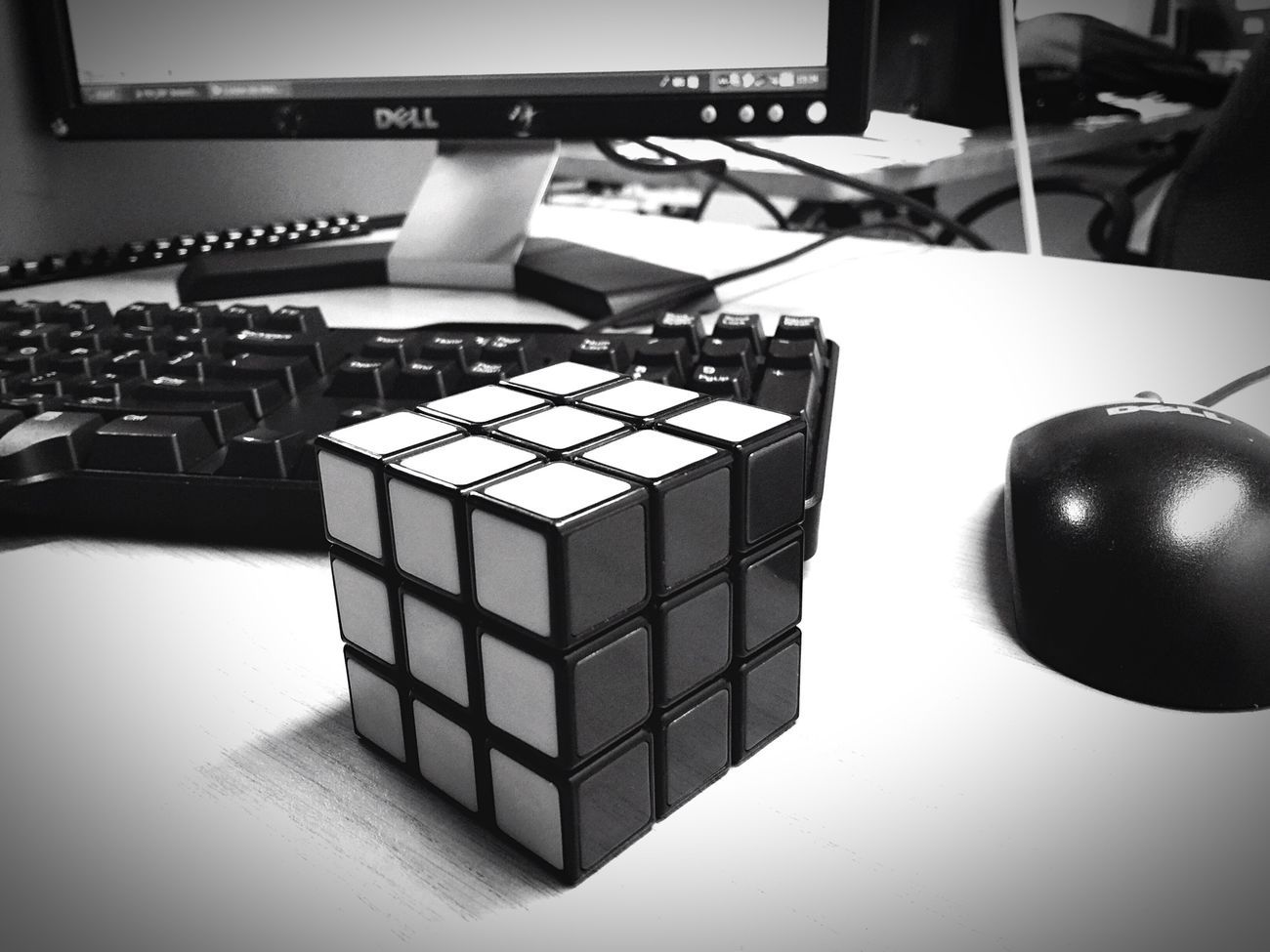 Randomness Work Rubriks Cube