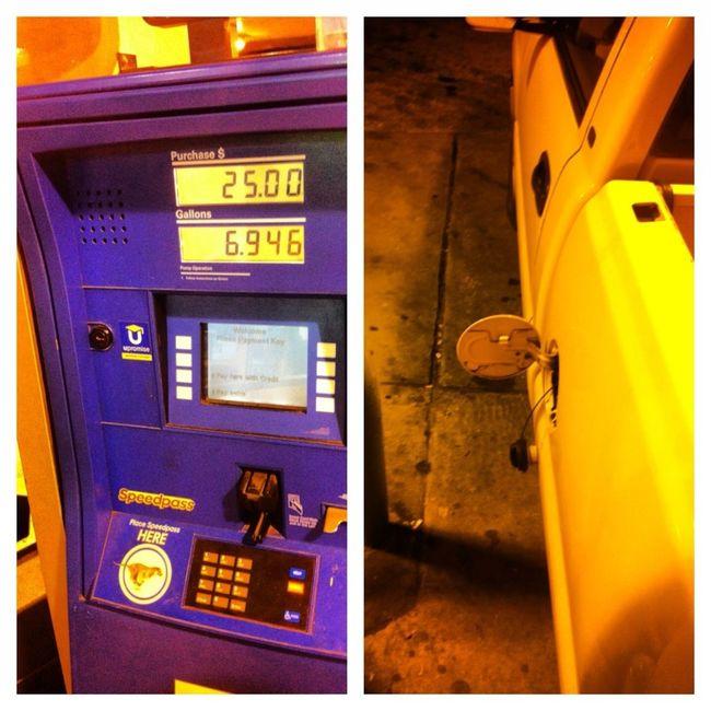 I Had To Feel My Gas Tank Up Late Last Night