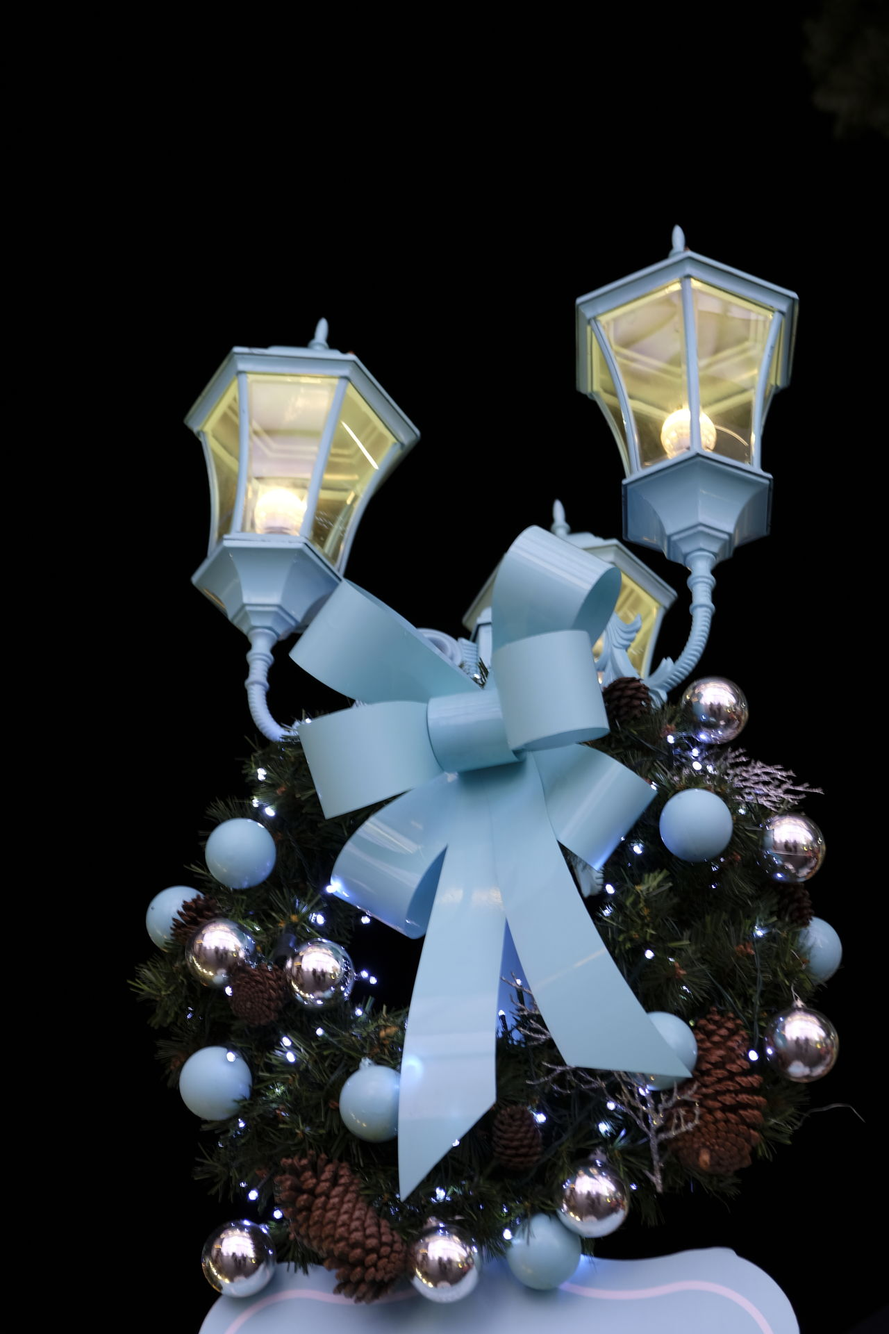 Black Background Christmas Lights Luxury Night No People Outdoor Precious Gem Wealth