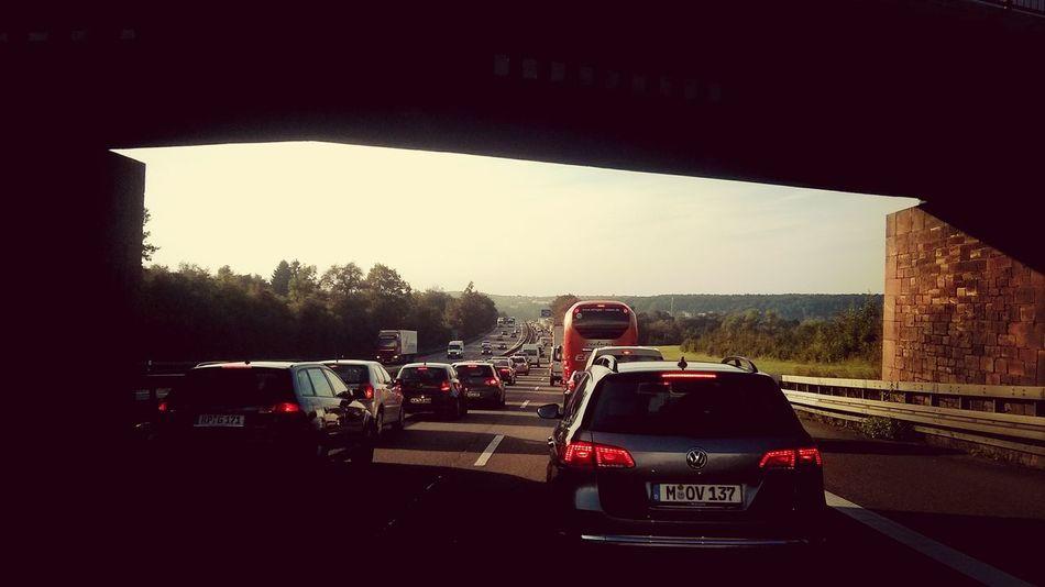 Traffic Jam Autobahn