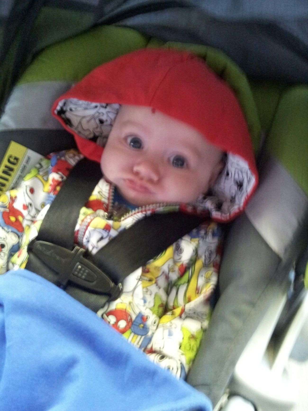 My Grandson Aiden Smurf Lol
