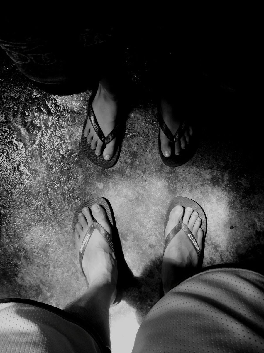 Feets Foot Black And White Father & Son Feet Toes Feet To Feet