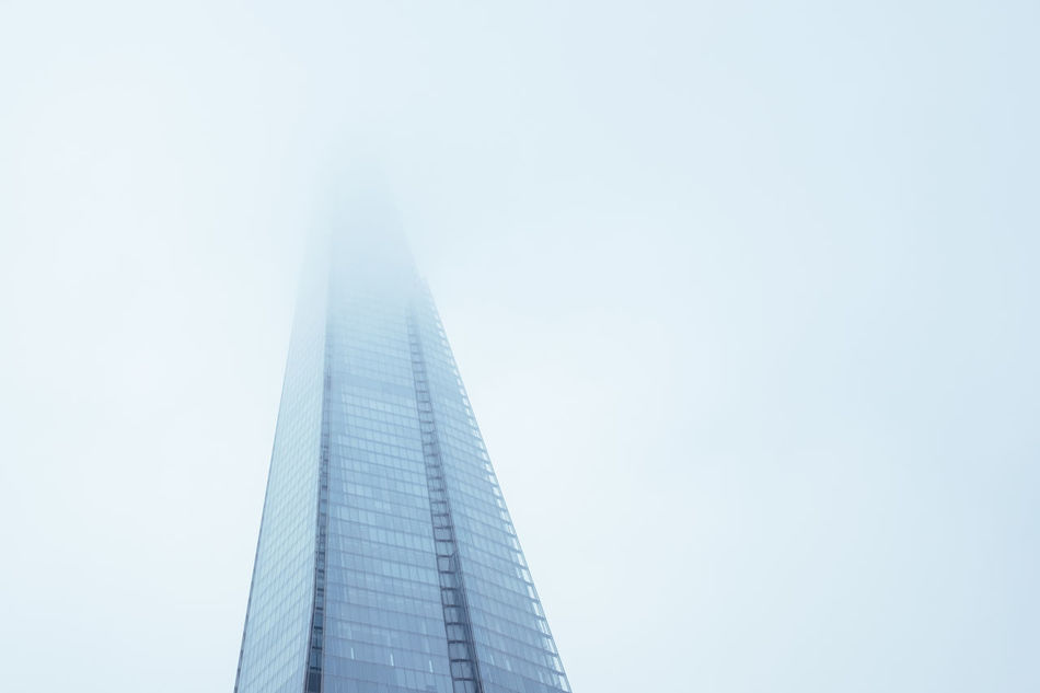Architecture Architecture_collection Building City Fog Foggy London Mist Sky Southwark  The Sharf