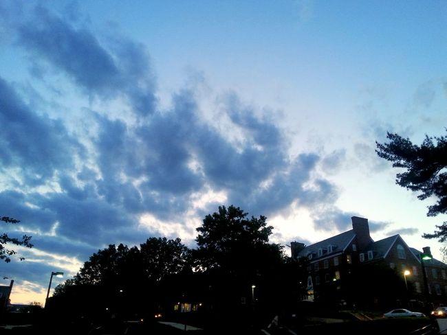 Dramatic Sky UMD Univeristy Sunset