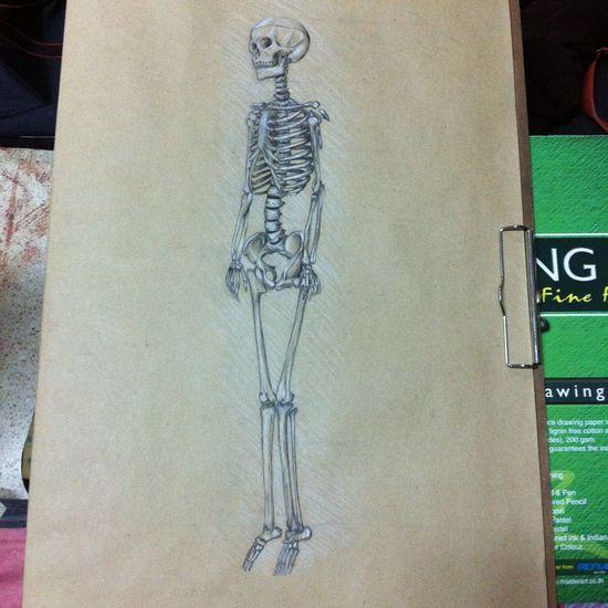 Drawing Today :) mr.bone 💀💋