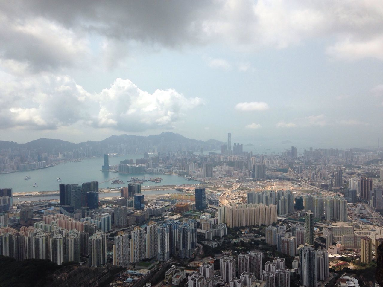 Hong Kong Cityscapes Aerial View My Country In A Photo