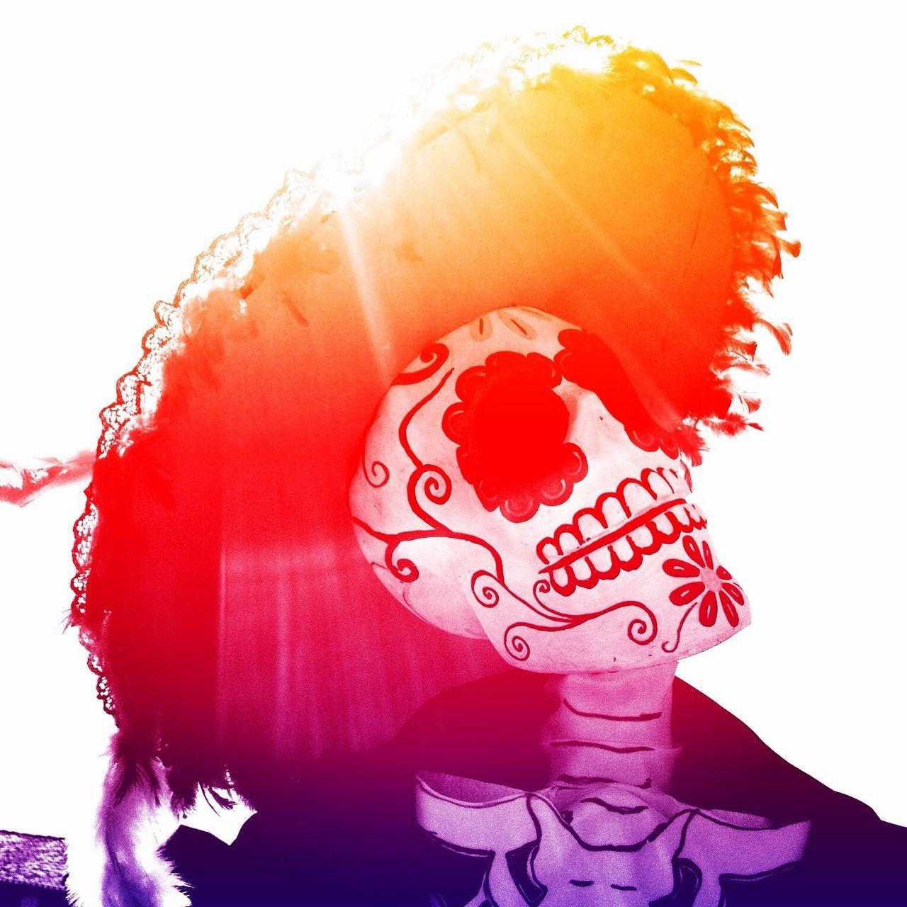 DIA DE MUERTOS Color Halloween Death