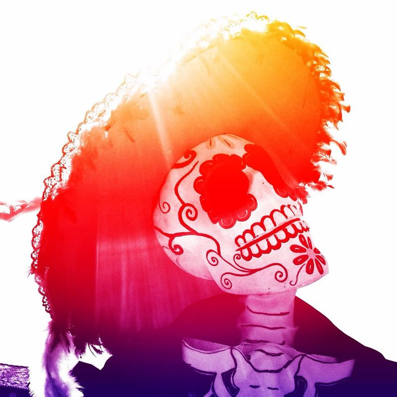 DIA DE MUERTOS Color Halloween Death