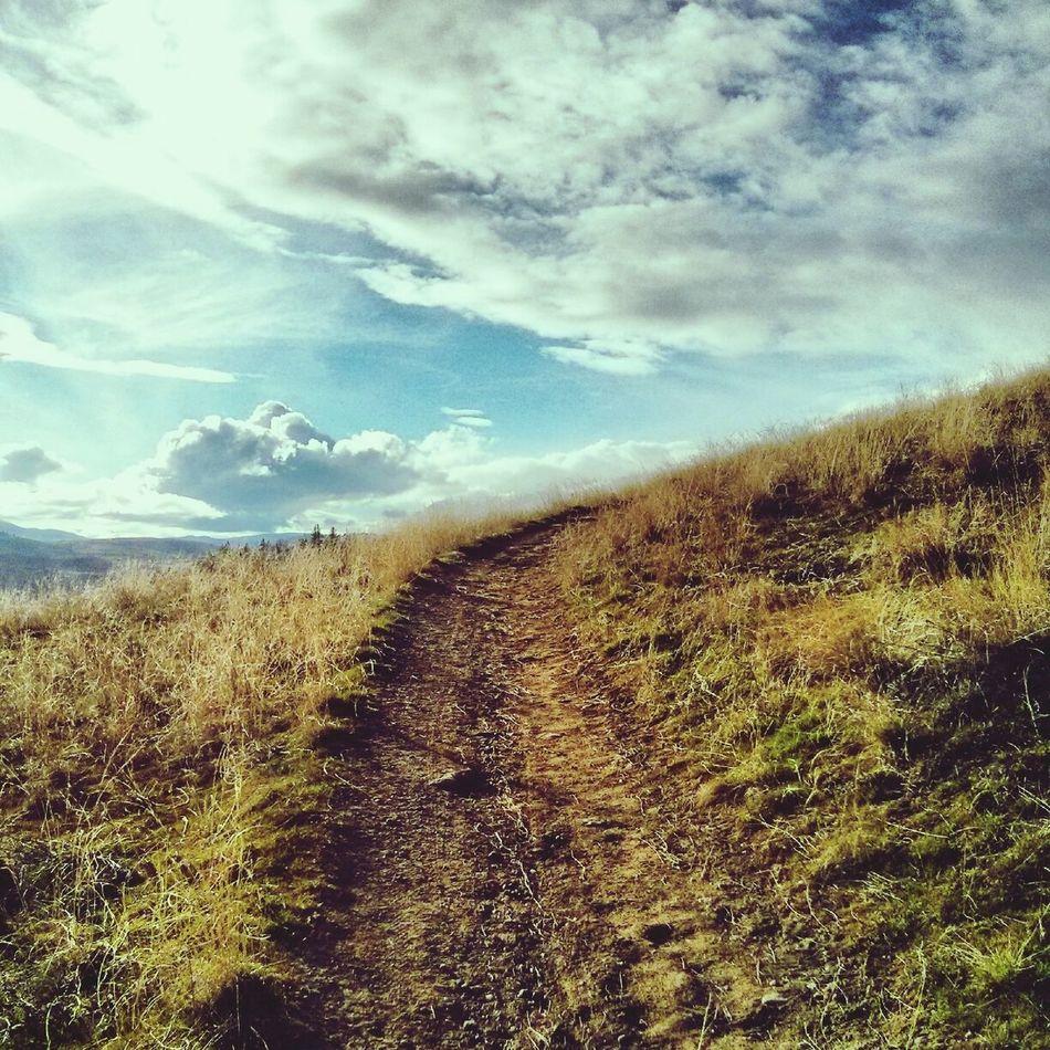 Spring! Hiking Explorevernon Mountain BC, Canada