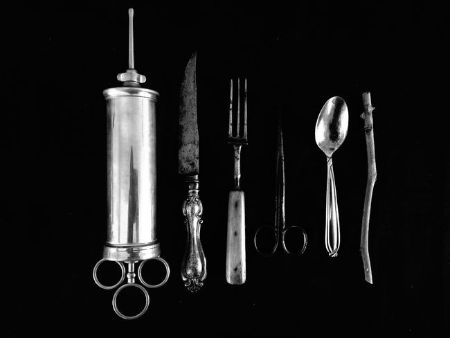 The Hierarchy of Cutlery ProCamera - Shots Of The Year 2014 NEM Black&white NEM Still Life
